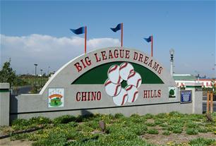 Big League Dreams sign